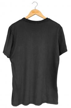 Camiseta Caffeine Dependent Black - Gola Básica