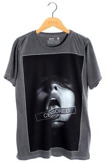 Camiseta Censored Brave - Gola Básica