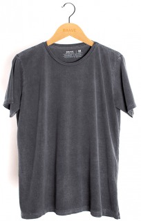Camiseta Lisa Estonada Brave - Gola Básica