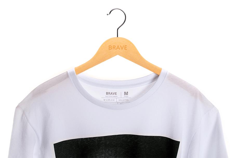 Camiseta Monalisa White - Gola Básica