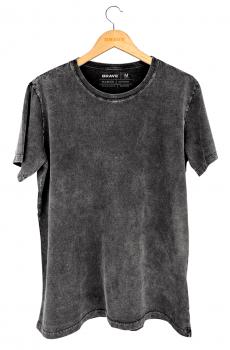 Camisetas Marmorizadas Brave - Gola Básica