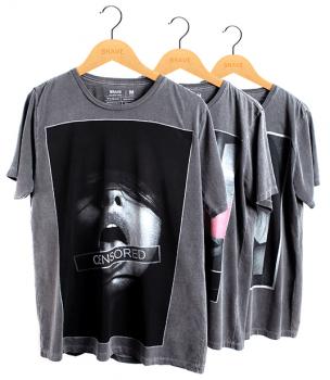 KIT 3 Camisetas Estonadas Brave - Gola Básica
